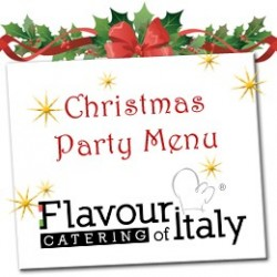 CATERING CHRISTMAS MENU