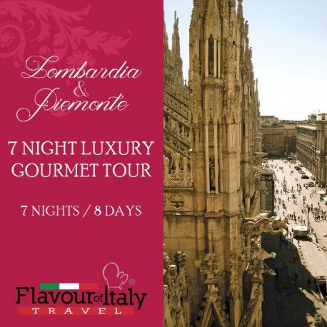 LOMBARDIA & PIEMONTE - 7 NIGHT LUXURY GOURMET TOUR