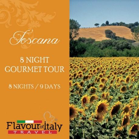 TOSCANA - 8 NIGHT GOURMET TOUR