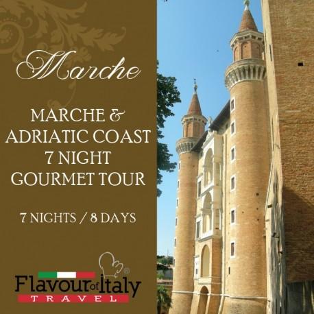 MARCHE & ADRIATIC COAST - 7 NIGHT GOURMET TOUR