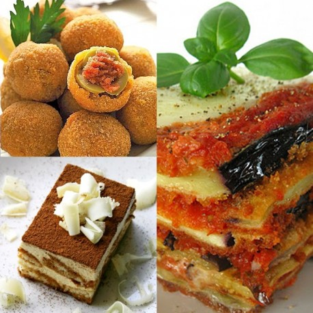 Feb. 29th, 2020  -  TRADITIONAL ITALIAN DISHES