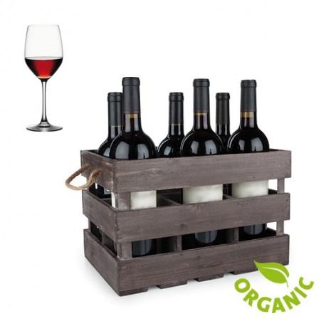 ORGANIC RED ITALIAN WINE - 6 BOTTLES BOX