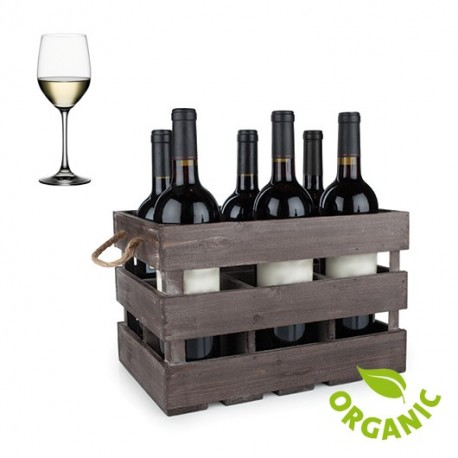 ORGANIC WHITE ITALIAN WINE - 6 BOTTLES BOX