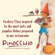 Sep. 30th, 2017  -  PINOCCHIO RESTAURANT COOKERY CLASS - ITALIAN DINNER