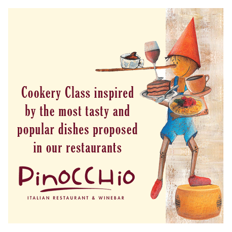 Sep. 28th, 2019  -  PINOCCHIO RESTAURANT COOKERY CLASS - ITALIAN DINNER