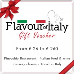 FLAVOUR OF ITALY GIFT VOUCHER