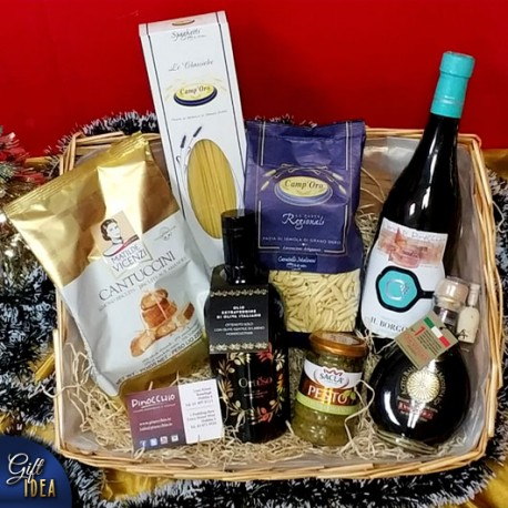 Christmas Hamper Silver