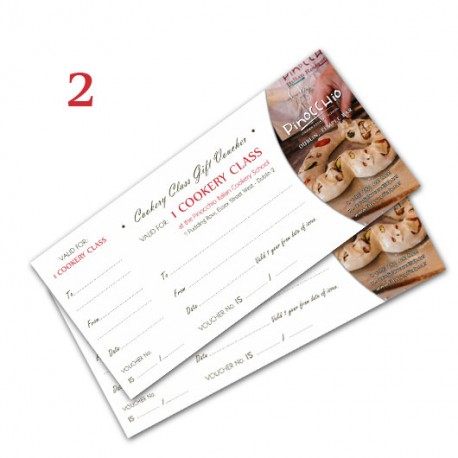 GIFT VOUCHER - 2 COOKERY CLASSES