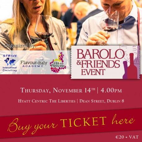 Nov. 14th, 2019  -  BAROLO & FRIENDS EVENT