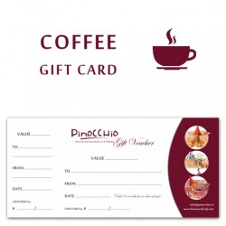 COFFEE GIFT CARD - 10 Coffees