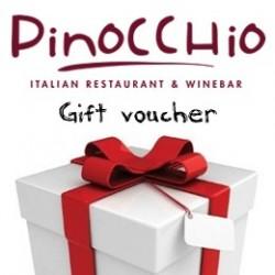 PINOCCHIO GIFT VOUCHER 100€