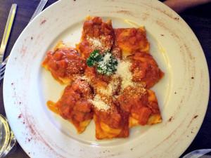 filled pasta - ravioli