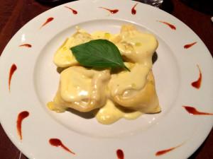 folled pasta - tortelli