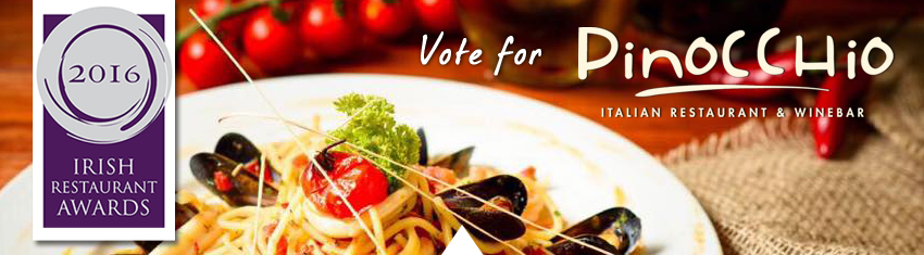 Irish reastaurant awards vote for pinocchio