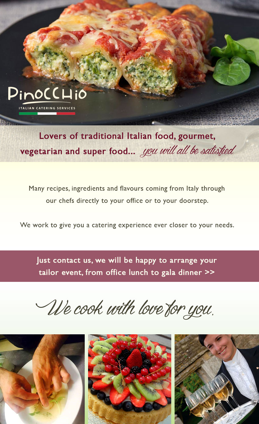 Outdoor Catering Services - Flavour Of Italy