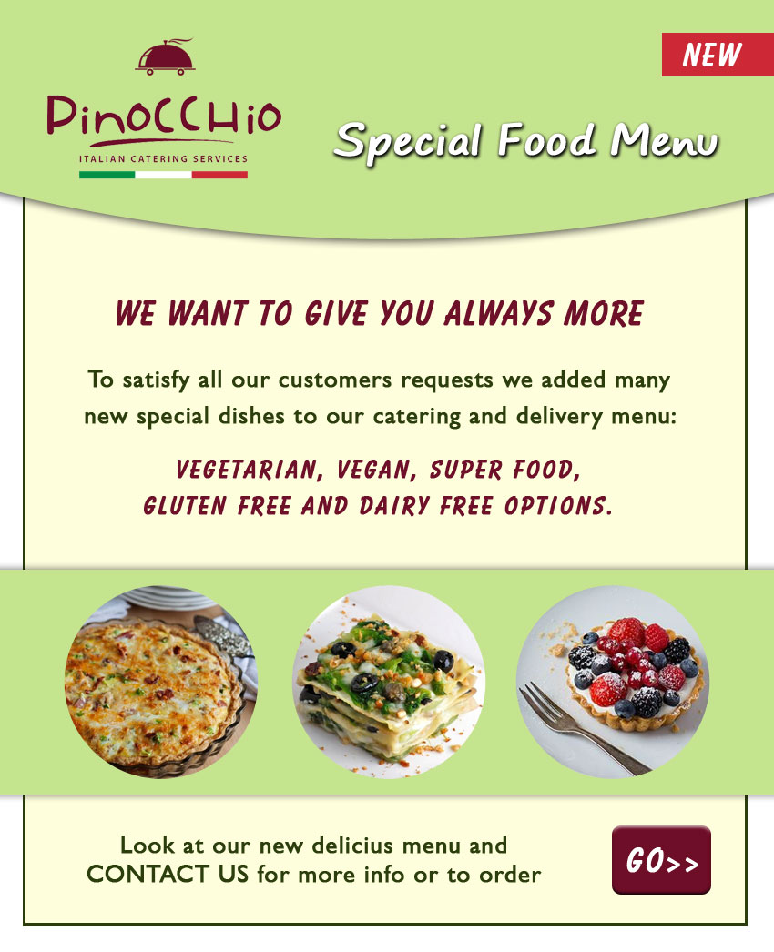 Takeaway & Delivery Services - Pinocchio Restaurant Dublin - Flavour ...