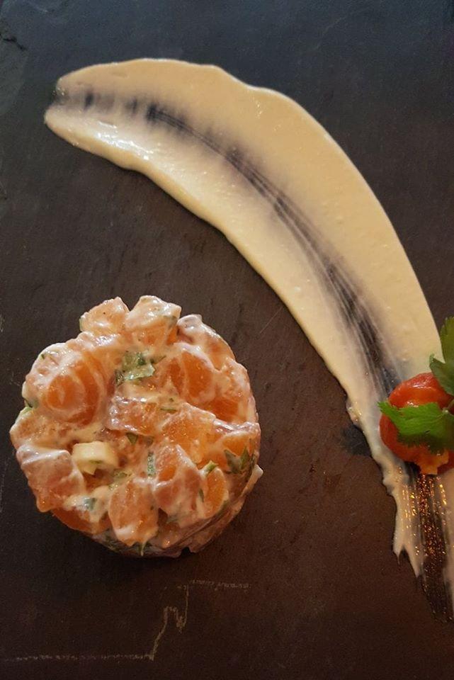 tartare irish salmon