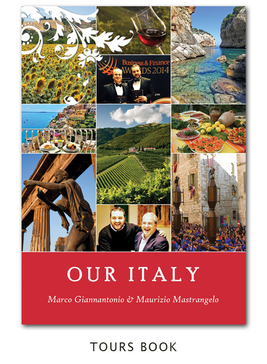 our italy - gourmet tour book