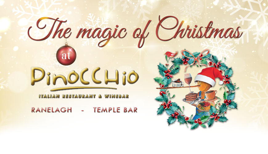 Christmas at Pinocchio restaurant