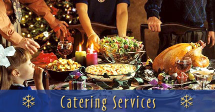 Christmas catering services