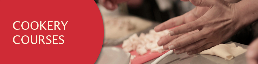 cookery courses banner