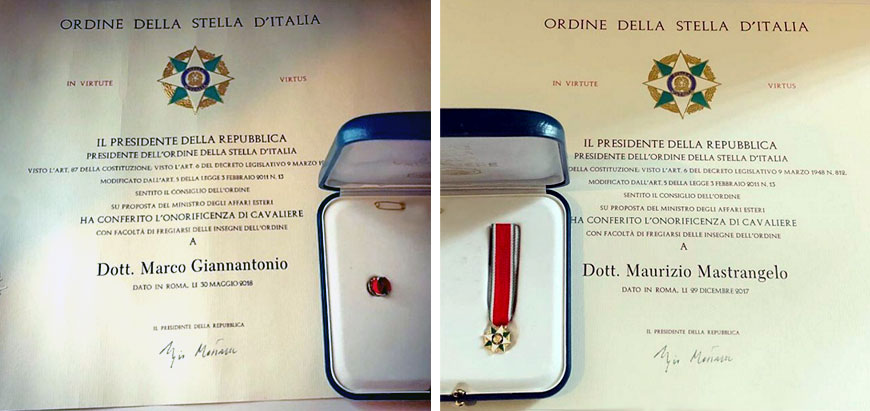 Cavaliere Stella d'Italia