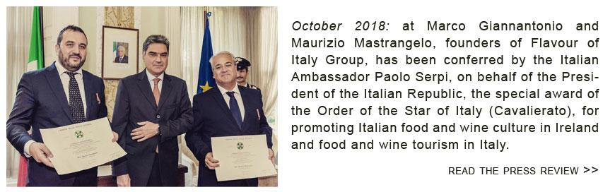 stella d'italia award