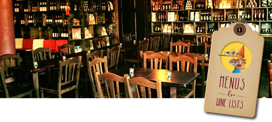 pinocchio restaurant menu
