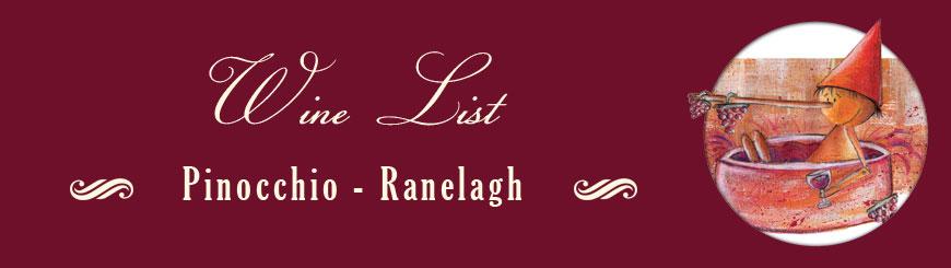 wine list ranelagh
