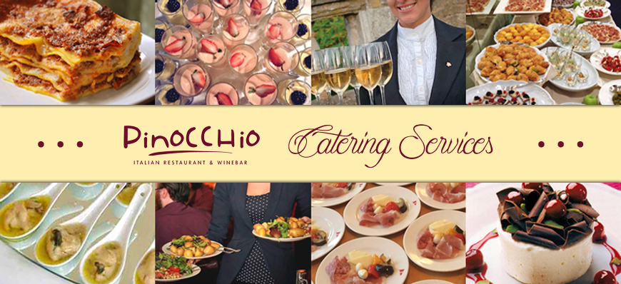 Pinocchio catering top