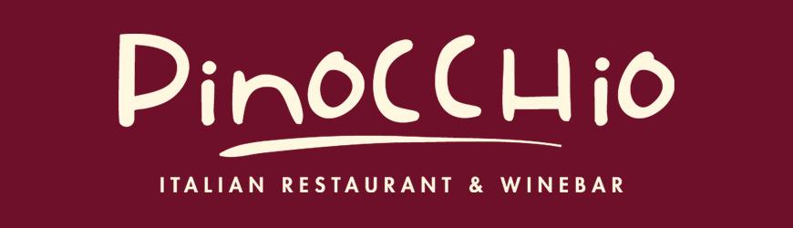Pinocchio Restaurant, Dublin Ireland, Banner