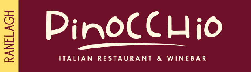 Pinocchio restaurant logo