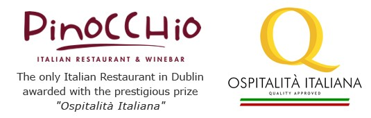 Pinocchio Italian restaurant and winebar - Dublin