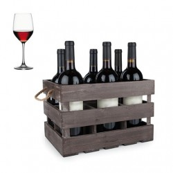 RED ITALIAN WINE - 6 BOTTLES BOX