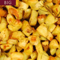 ROASTED POTATOES - BIG PLATTER