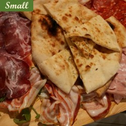 FOCACCIA WITH CURED MEAT - SMALL PLATTER