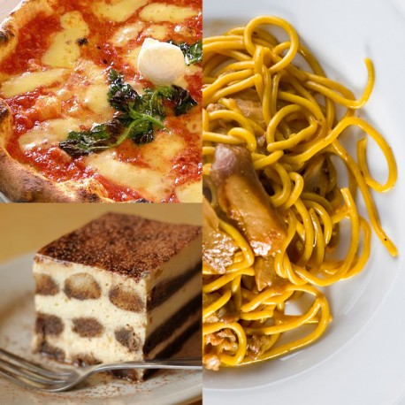 Apr. 17th, 2021  -  PASTA, PIZZA & TIRAMISU