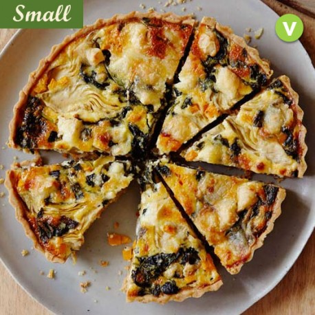 VEGETABLES QUICHE - SMALL PLATTER