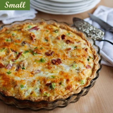 MEAT QUICHE - SMALL PLATTER