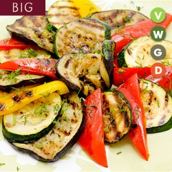 GRILLED VEGETABLES - BIG PLATTER